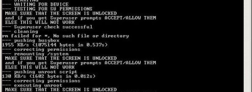 Want To Root Something (Anything)? Try DooMLoRD's Easy Rooting Toolkit
