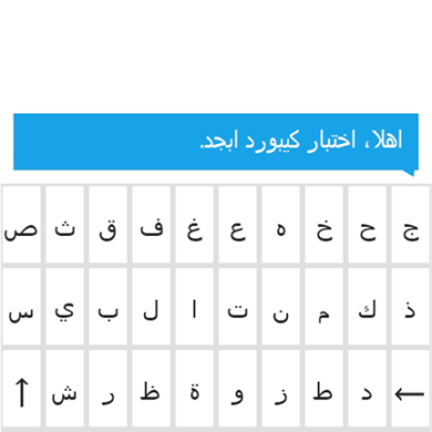 Get Multi-Lingual With Abjad Keyboard for Mango