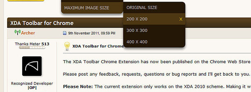 Unofficial XDA Toolbar Released!