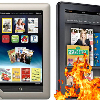 Nook Tablet Rooted, Kindle Under Heavy Fire!
