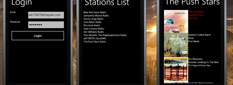 Pandora for WP7 Proof of Concept Released!