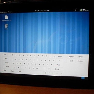 HP Touchpad Can Now Run Arch Linux