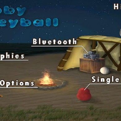 Get Your Ball On With Blobby Volleyball