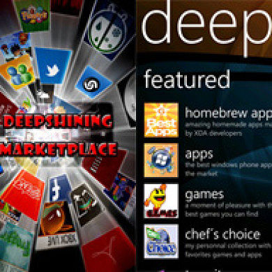Deepshining ROM For HTC HD7 Updated With 8107 Build And Custom Marketplace