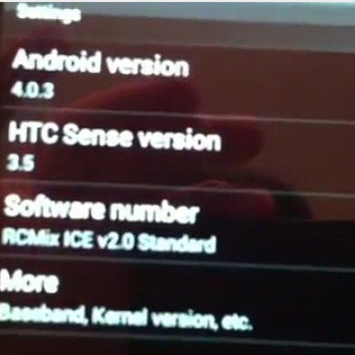 First ICS ROM For HTC Flyer