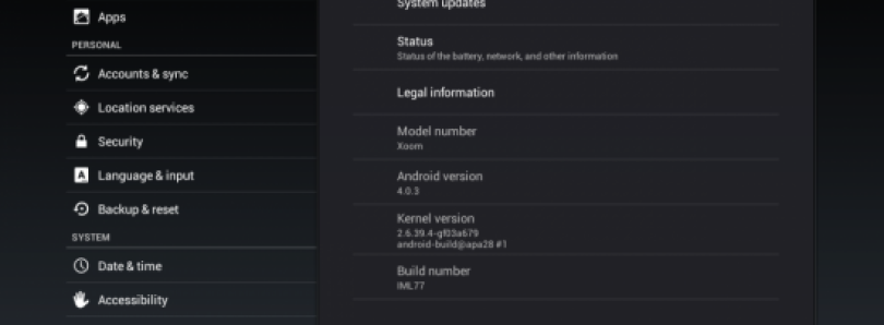 Ice Cream Sandwich Update Rolling Out To Select Motorola XOOMs, Here's How To Get It Now