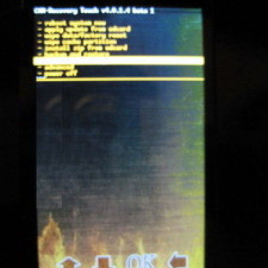 Work In Progress to Give HD2 Touch Screen-Enabled Recovery