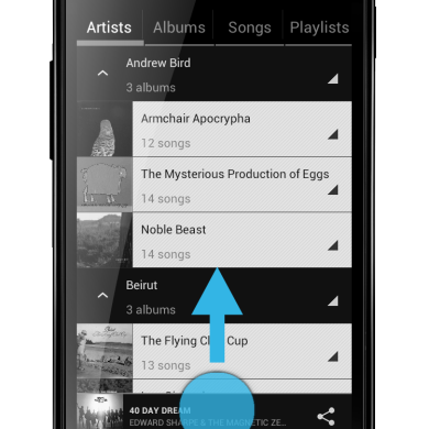 CyanogenMod 9 Music App Coming To Market