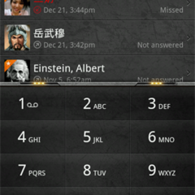 exDialer: MIUI Styled Dialer for those Without