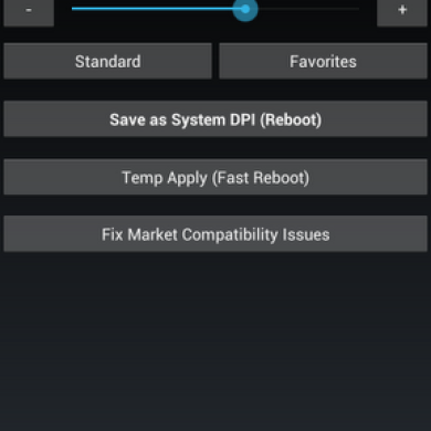 Mod App Delivers Ability to Change DPI and Fix Market Compatibility for HP Touchpad