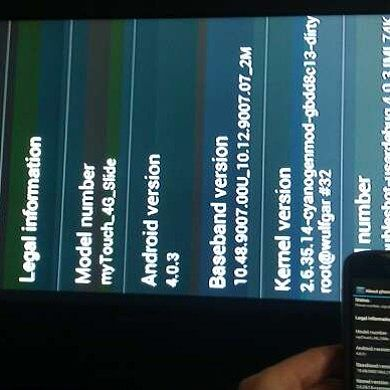 Use Terminal Emulator Enabled TV-Out App to Stream MyTouch 4g Slide to HDTV