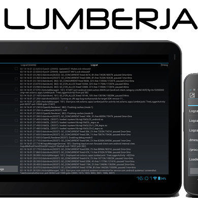 Lumberjack Brings Us Tablet-Optimized System Logging