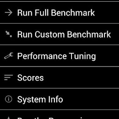 Tweak and Measure Performance With Benchmark and Tuning