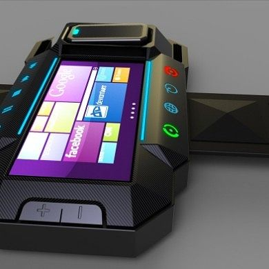 Interesting Windows 7/8 Watch Concept Design