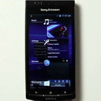 Sony Leading the Android Pack–Official ICS Beta Released for Xperia Models