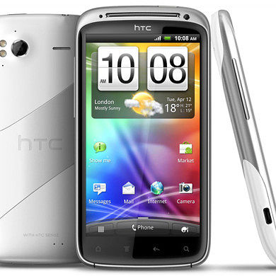 HTC Dresses Sensation In White Ice To Receive ICS