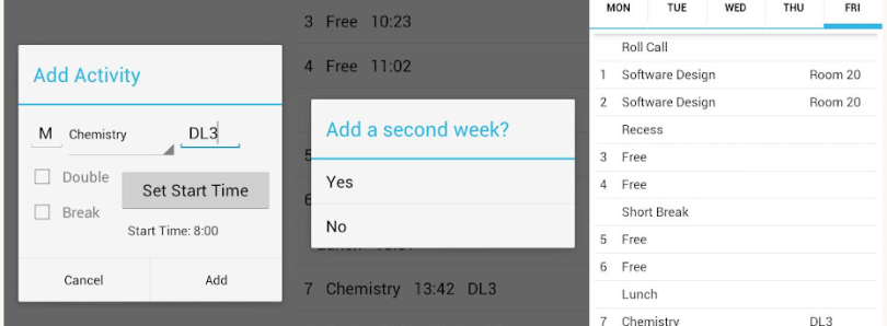 Timetablr Helps You Stay in School