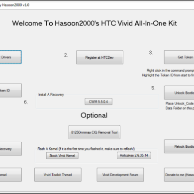 HTC Vivid All-In-One Toolkit Gives New Users a Running Start