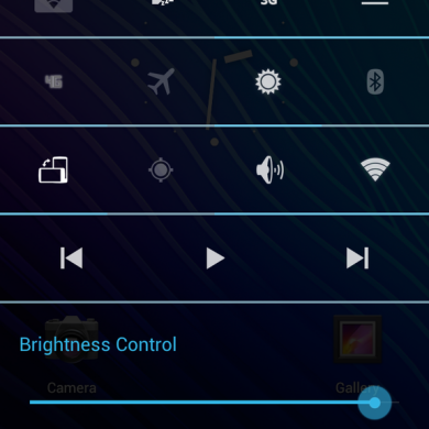 Status Bar Makeover for Atrix and Galaxy Nexus on CM9