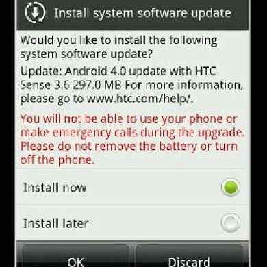 HTC Sensation Receives Official ICS Update – Nordic Countries Only