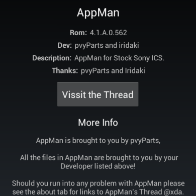 AppMan for Xperia Arc Brings Mass Modification Download Interface