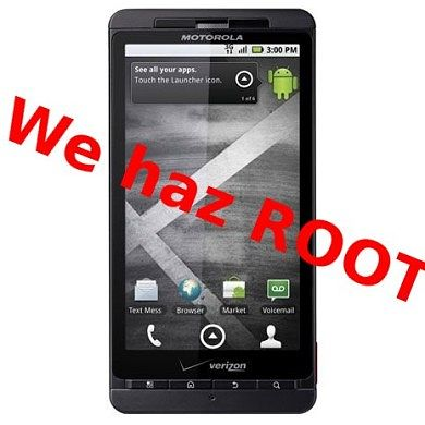 Regain Root on the Latest Droid X .621 OTA