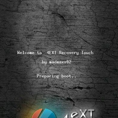 Ext4 Touch Recovery for the GSM EVO 3D