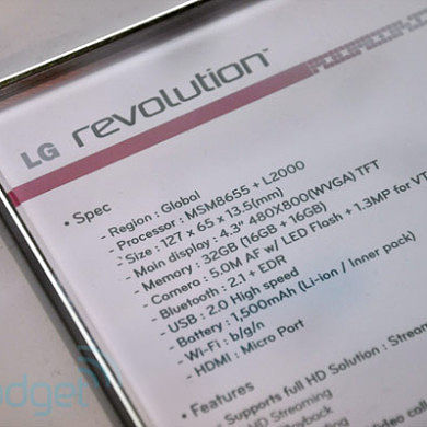 LG Revolution Owners Can Keep Root Through Latest OTA