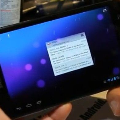 Samsung Galaxy Note AOSP ROM in ICS Tablet Mode