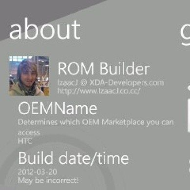 ROMAbout – A Tool for Windows Phone 7 Chefs