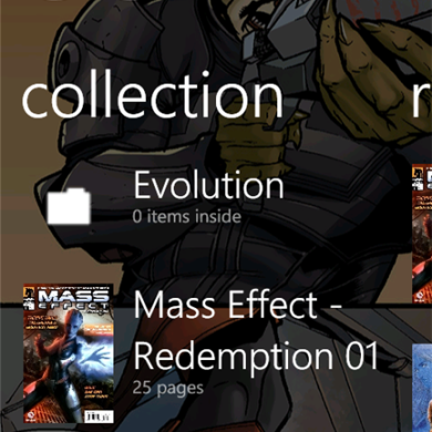 Read Your Comics on the Go With Comx Reader for WP7