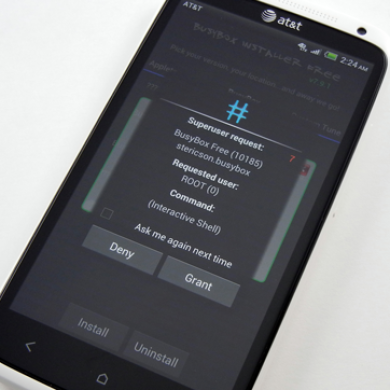 AT&T HTC One X Acquires Root