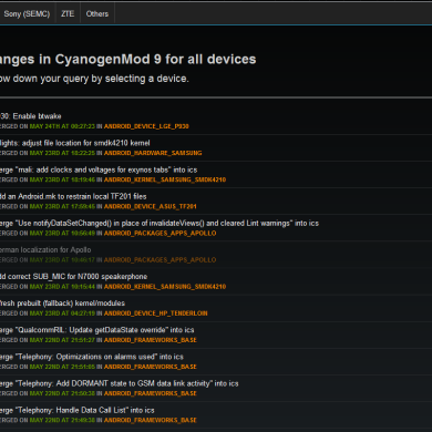 BBQLog Brings CM Nightly Changes Straight to You