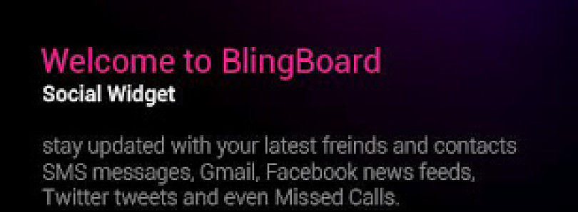 BlingBoard Brings All Your Social Media to One Widget