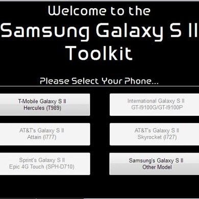 T-Mobile Galaxy S II Toolkit Brings Puts Everything Under One Roof