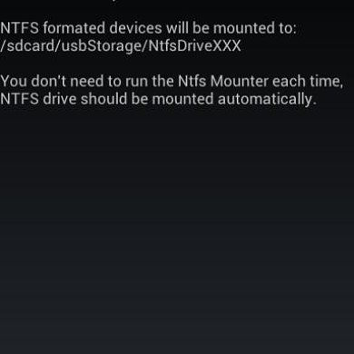 Mount NTFS Drives with NTFS Mounter