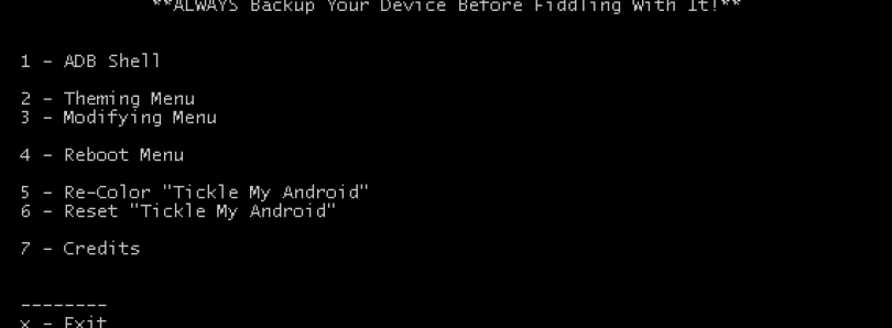 Tickle My Android Tool Makes Theming a Little Easier