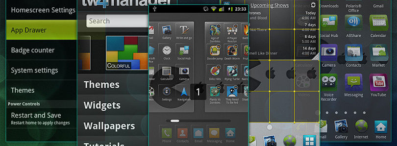 TouchWiz 4.5 APK Repository for the AT&T Galaxy S II Adds ICS Version