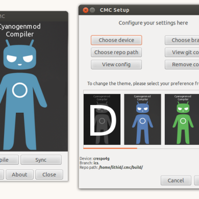 CyanogenMod Compiler Now Builds CM with a GUI