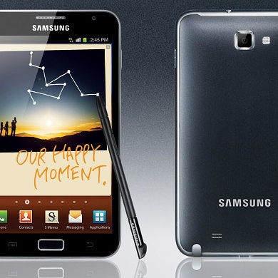 International Galaxy Note Official ICS Released, Repackaged