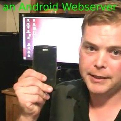 Android Web Server – XDA TV