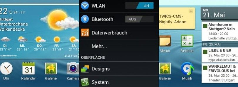 Popular Galaxy S III Mod Pack Released for Galaxy S I9000
