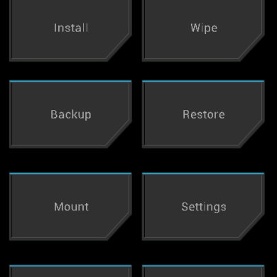 TWRP 2.1 Released for the AT&T and Rogers One X