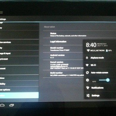 ASUS Transformer TF300T Gets 4.1.1 AOSP Jelly Bean