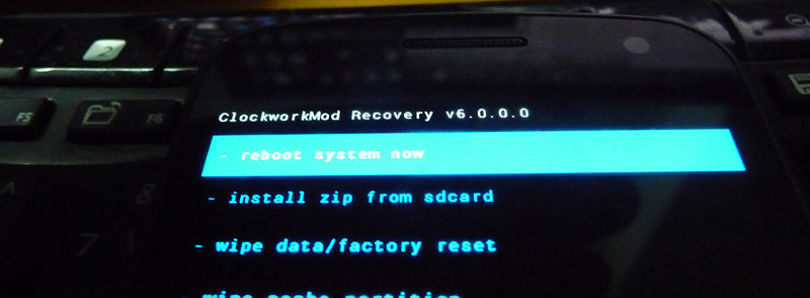 ClockworkMod Recovery 6.0.0.0 Alpha For Galaxy R and Galaxy Nexus