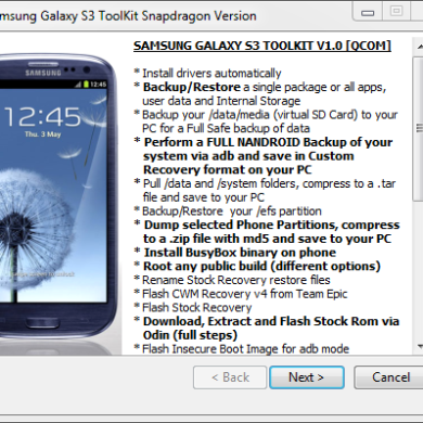Universal Toolkit for US Galaxy S III Variants