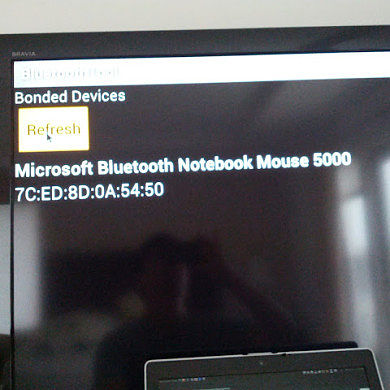 Connect an HID Bluetooth Mouse to the Nexus Q