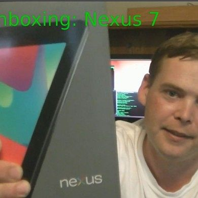 Nexus 7 Unboxed the XDA Way – XDA Developer TV