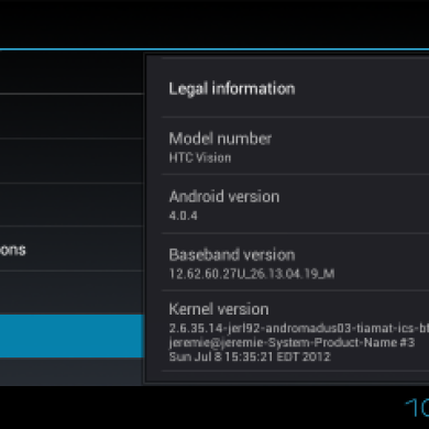 First Hybrid Rom For The HTC Desire Z / G2