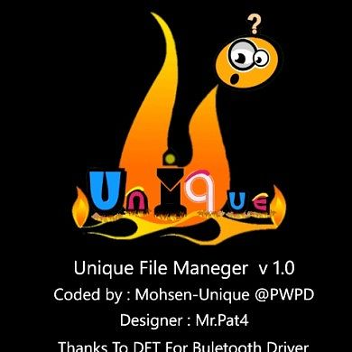First File Manager with Bluetooth Transfer for WP7